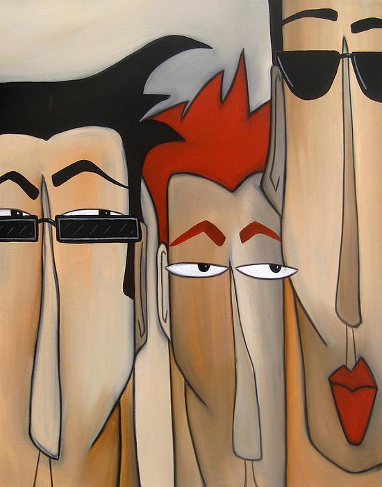 Fidostudio Painting - Sales Crew by Tom Fedro - Fidostudio
