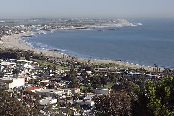 Towns Photograph - San Buenaventura State Beach by Rich Reid