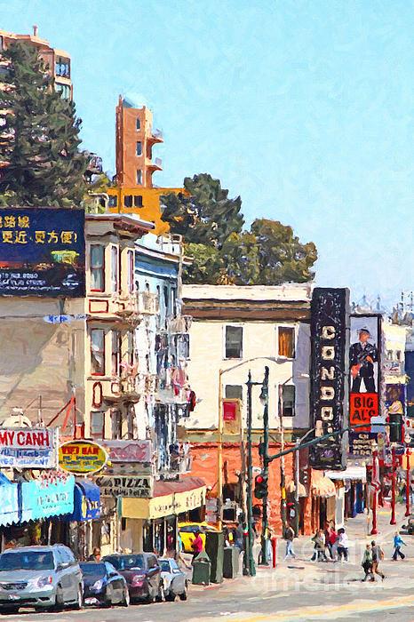 San Francisco Photograph - San Francisco Broadway by Wingsdomain Art and Photography