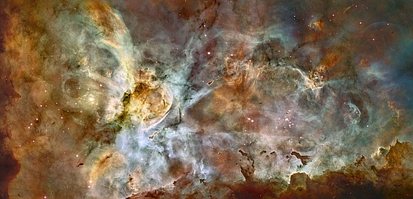 Galaxy Photograph - Scientists Add Colors Based On Light by ESA and nASA