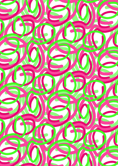 Louisa Digital Art - Scroll by Louisa Knight