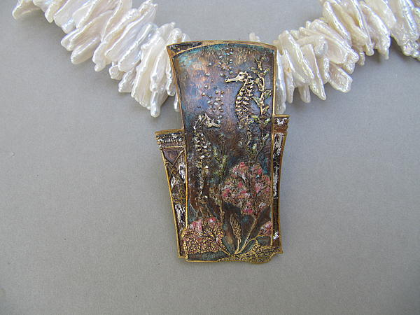Vintage Jewelry - Sea Fan by Brenda Berdnik