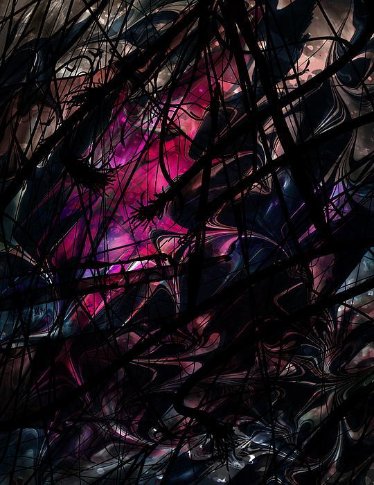 Sea Digital Art - Sea Monster by Rachel Christine Nowicki
