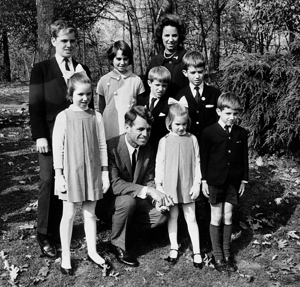History Photograph - Senator-elect Robert Kennedy And Wife by Everett