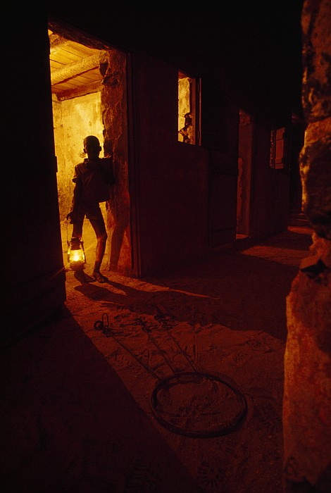 Indoors Photograph - Shackles In Cell On Goree Island Recall by Gordon Gahan