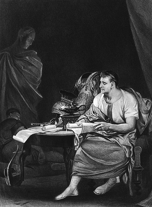 Ancient Photograph - Shakespeare: Julius Caesar by Granger