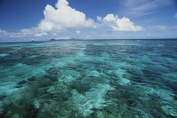 Scenic Views Photograph - Shallow Blue Water Stretches by Michael Melford