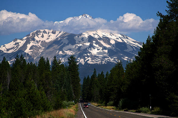 Shasta Photograph - Shasta On The Road Again by BuffaloWorks Photography