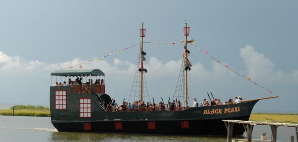 Black Pearl Pirate Sailing Ship Photograph - Ship 33 by Joyce StJames