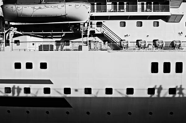Ship Photograph - Ship Watching by Dean Harte