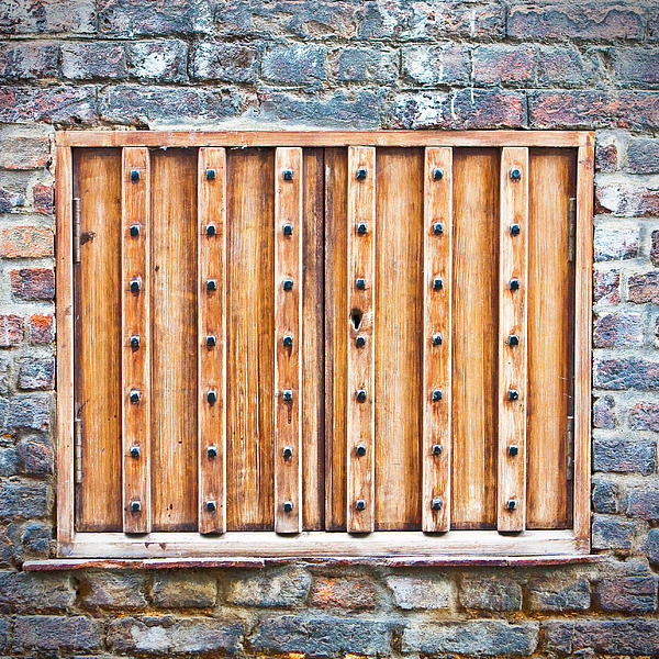 Abandoned Photograph - Shutters by Tom Gowanlock