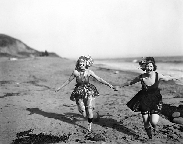 Silent film still bathers photograph by granger for Design your own bathers