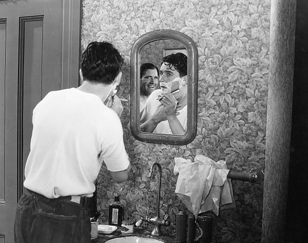 Beard Photograph - Silent Film Still: Beards by Granger