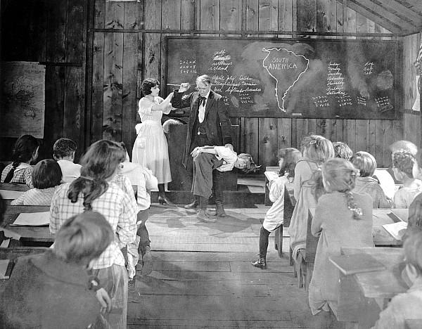 1920s Photograph - Silent Film Still: School by Granger