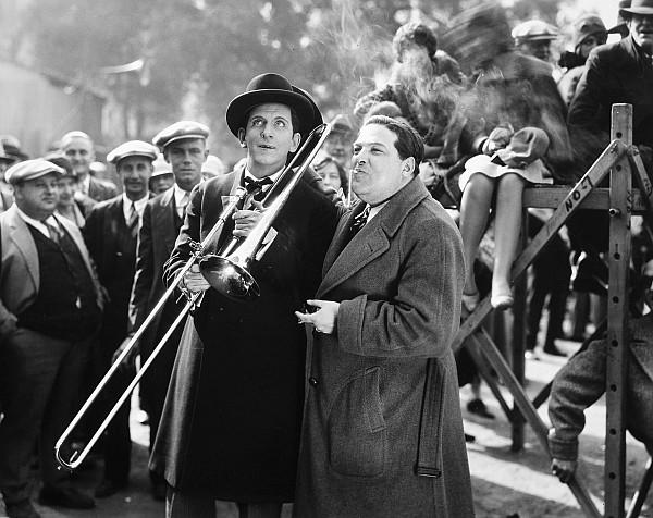 1920s Photograph - Silent Still: Musicians by Granger