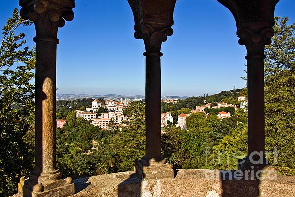 Ancient Photograph - Sintra Balcony by Carlos Caetano