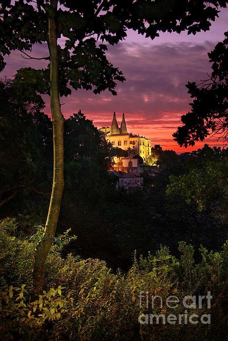 Ancient Photograph - Sintra Palace by Carlos Caetano