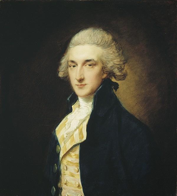 Sir Painting - Sir John Edward Swinburne by Thomas Gainsborough