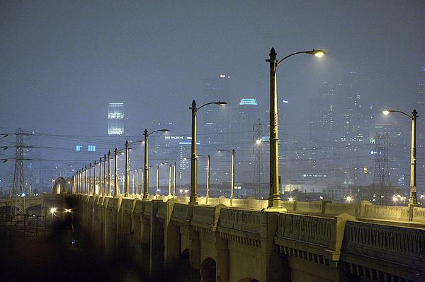Landscape Photograph - Sixth Street Fog by Kevin  Break