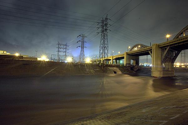Folar Photograph - Sixth Street Storm by Kevin  Break