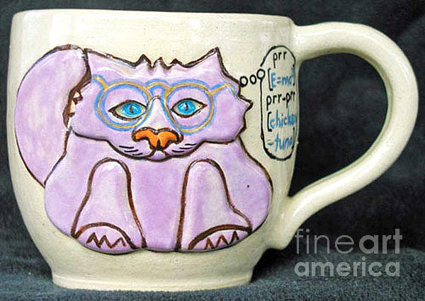 Kitty Photograph - Smart Kitty Mug by Joyce Jackson