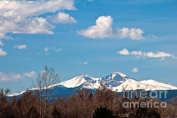 Clouds Photograph - Snow-capped Mountain Majesties by Harry Strharsky