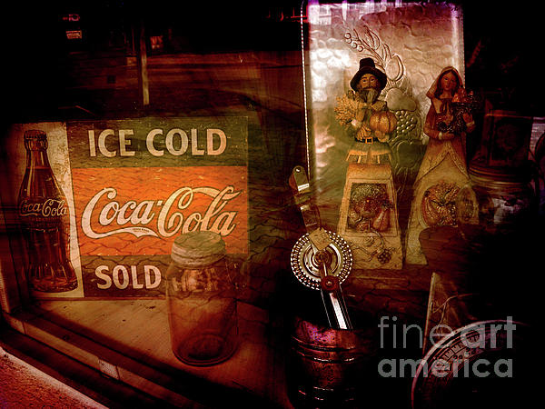 Retro Photograph - Sold Out by Susanne Van Hulst