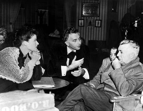 1940s Movies Photograph - Song Of Love, Katharine Hepburn, Paul by Everett