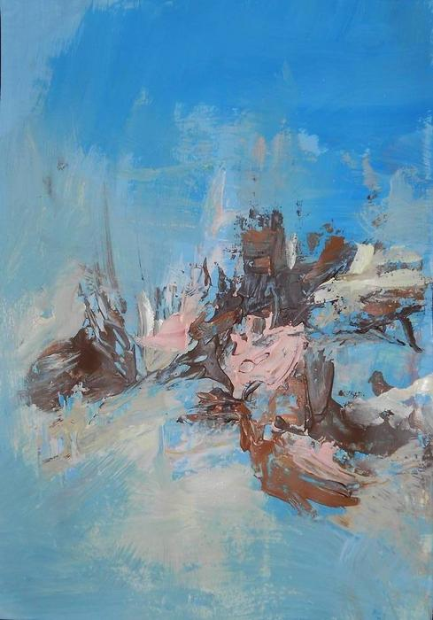 Exploration Of Spatial Elements Painting - Spatial Analysis 4 by Ulrich De Balbian