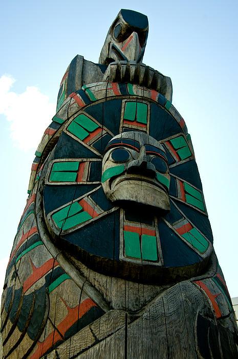 Totem Photograph - Speaking Silently  by Travis Crockart