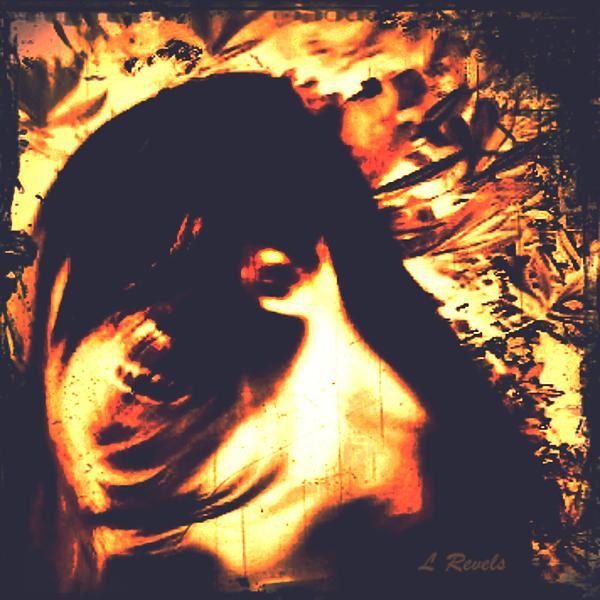 Haunted Digital Art - Spectre by Leslie Revels Andrews