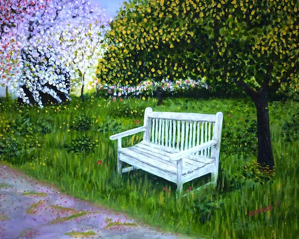 Spring Painting - Spring by Gizelle Perez