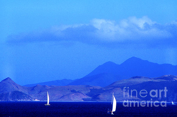 West Indies Photograph - St Kitts Sailing by Thomas R Fletcher