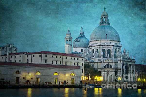 Venice Photograph - St Maria Della Salute From St Marks  by Marion Galt