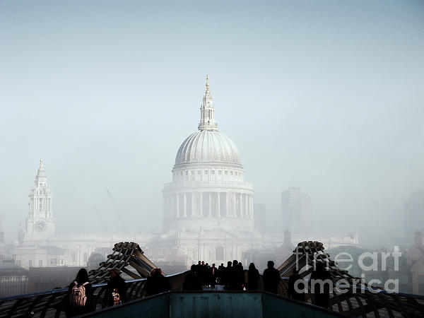 London Photograph - St Pauls Cathedral by Pixel  Chimp