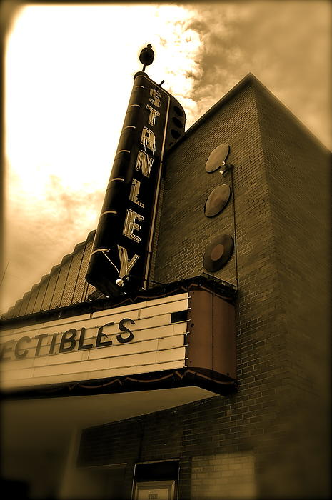 Stanley Theater Photograph - Stanley Theatre  by Amber Hennessey