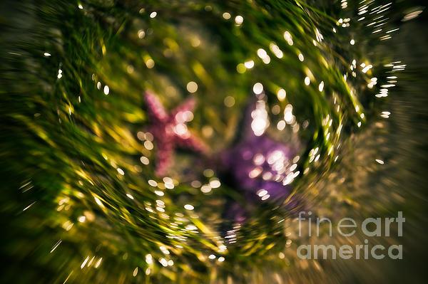 Abstract Photograph - Starfish Swirl by Venetta Archer