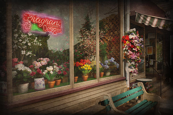 Hdr Photograph - Store - Belvidere Nj - Fragrant Designs by Mike Savad