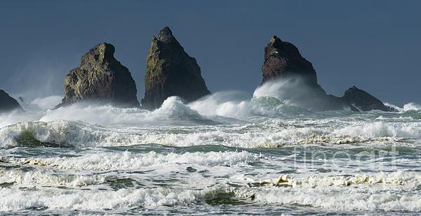 Rocks Photograph - Storm Warning by Bob Christopher