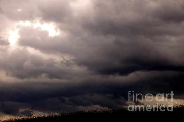 West Virginia Photograph - Stormy Sky Over Pasture by Thomas R Fletcher
