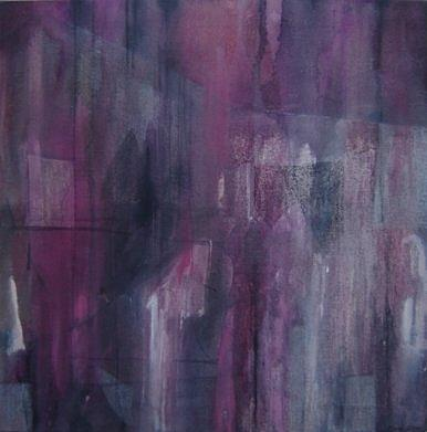 Abstract Painting - Street Of Echoes. by Cima Azimi
