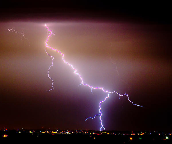Boulder County Photograph - Subsequent Electrical Transfer by James BO  Insogna