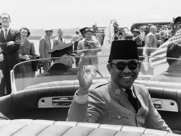 History Photograph - Sukarno, President Of Indonesia by Everett