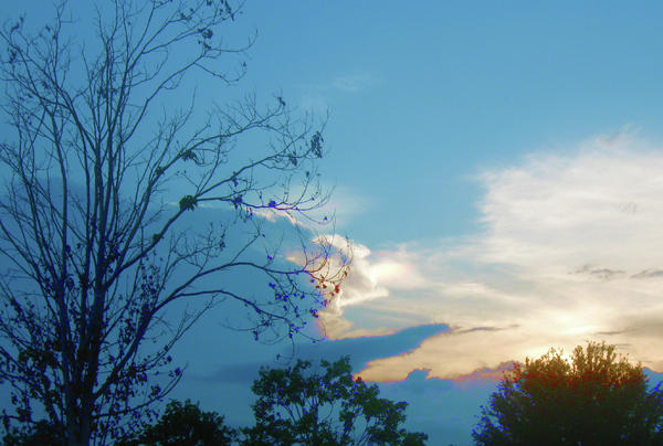 Sky Photograph - Summer Sky by Juliana  Blessington