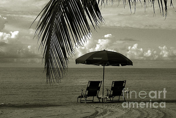 Beach Photograph - Sunday Morning In Key West by Susanne Van Hulst