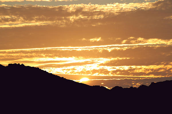 Sunset Photograph - Sundown by Caroline Lomeli