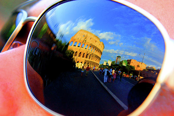 Sunglasses Of The Colosseum Photograph by Alessandria Iannece