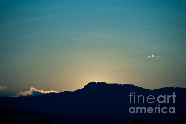 Fort Collins Photograph - Sunset At Horsetooth Rock by Harry Strharsky