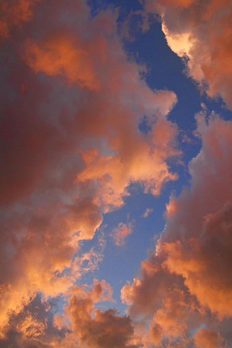 Sunset Photograph - Sunset Cloudscape 1035 by James BO  Insogna