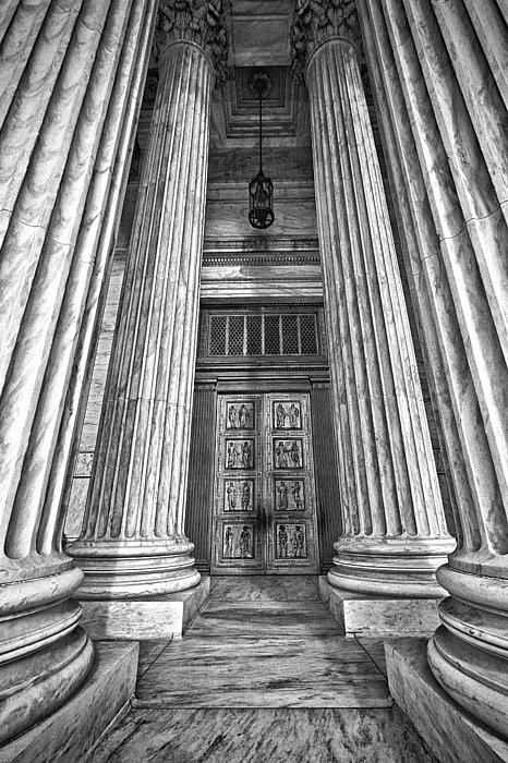 Black Russian Photograph - Supreme Court Building 11 by Val Black Russian Tourchin